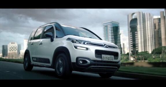 Citroen apresenta campanha do novo Aircross