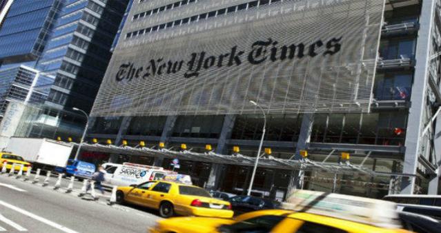 Com menos anúncios, receita do New York Times cai