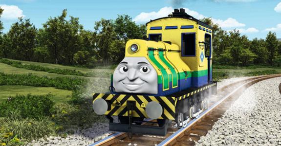 Trem Brasileiro Entra Para A Turma De Thomas E Seus Amigos Meio