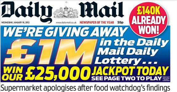The Daily Mail prepara oferta pelo Yahoo