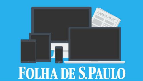 Circulação digital da Folha ultrapassa a do impresso