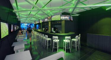 Bar aposta em esporte, música, loja e ativações