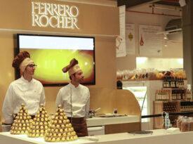 Ferrero Rocher inaugura espaço na Eataly