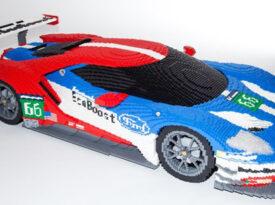 Ford GT feito com Lego faz sucesso na internet