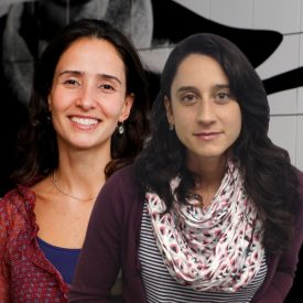 Isabella Henriques e Marina Pita
