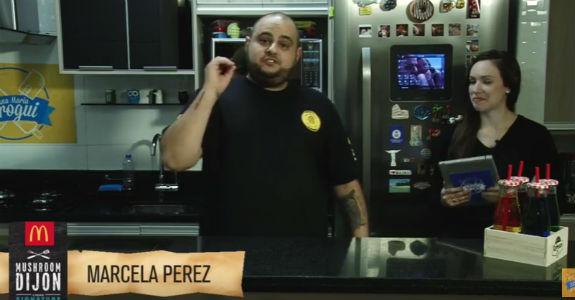 McDonald's patrocina live do Ana Maria Brogui