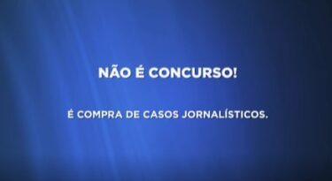 """""""Compramos casos jornalísticos"""", diz SBT"""