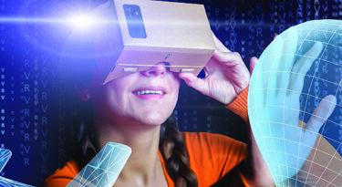 Revista leva óculos e realidade virtual a bancas