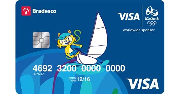 Visa e Bradesco lançam cartões pré-pagos para Rio 2016