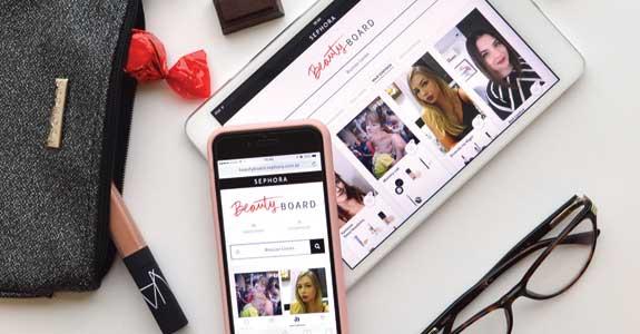 """Sephora lança """"social-commerce"""""""