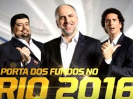 Porta dos Fundos anuncia cobertura olímpica da Fox
