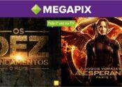 Megapix lança campanha para anunciar as estreias