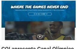 COI apresenta Canal Olímpico