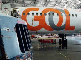GOL apresenta aeronave com internet