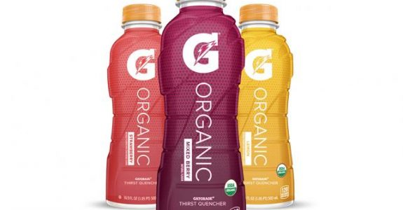 Pepsico apresenta Gatorade orgânico