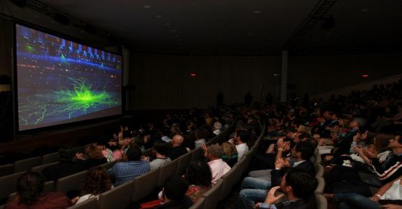Globo apresenta 8K no Museu do Amanhã