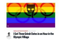 Jornalista que expôs atletas homossexuais é afastado pelo COI