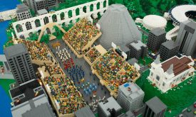 Lego homenageia o Rio de Janeiro com maquete