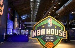 NBA inaugura embaixada do basquete