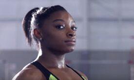 Simone Biles em novo filme da Nike