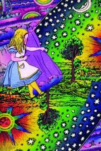 "Gravura de ""Alice no País das Maravilhas"""
