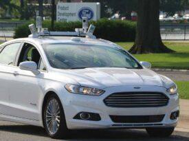 Ford faz primeiro teste de carros autônomos
