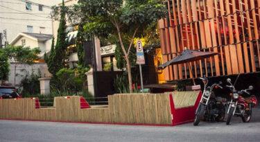 Parklets engajam marcas na prática da gentileza urbana