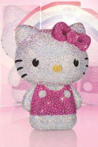 Edição limitada de swarovski da Hello Kitty