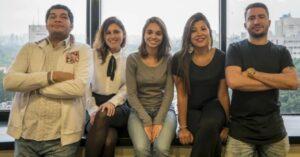 Giulianno de Lollo, Susy Madrigal, Laura Dourado, Ana Karla Cunha e Victor Venturini (foto: divulgação)