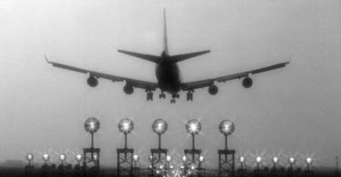 Um avião só decola com o vento contrário