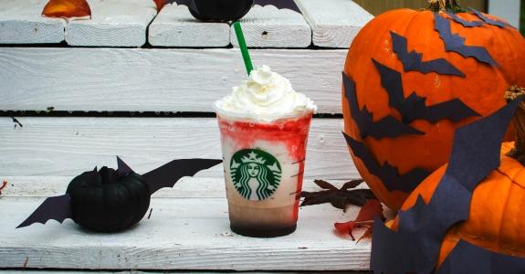 Starbucks cria bebida especial para o Dia das Bruxas