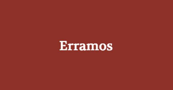 Erramos-Catraca