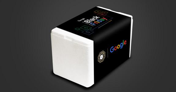 Google distribui sorvetes na Black Friday