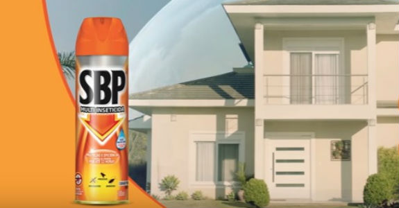 SBP entra na categoria de repelente corporal