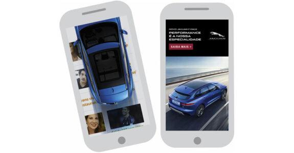 Soluções AOL Mobile: case Jaguar F-PACE