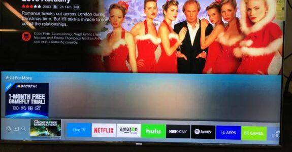 Samsung coloca anúncios no menu de app da smart TV