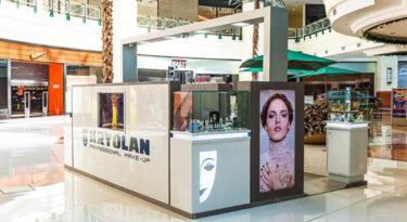 Kryolan lança franquia de quiosques no Brasil