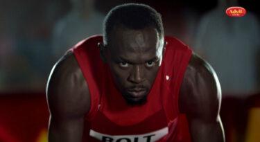 Advil aposta em Usain Bolt para crescer