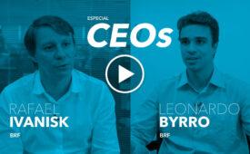 O marketing e o CEO: Rafael Ivanisk e Leonardo Byrro, presidentes da BRF