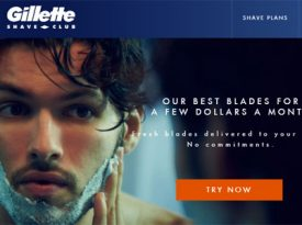 Gillette lança clube de assinaturas no Brasil