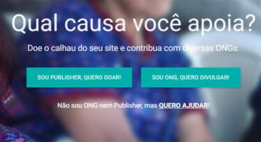 Startup quer usar calhaus para dar visibilidade a ONGs