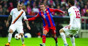 Champions League, Bayern x Roma, Mario Goetze (foto: Latinstock)