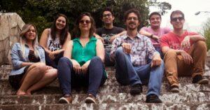 Phiama, Sarah, Fernanda, Bruno, Marcelo, Guilherme e Felipe (foto: divulgação)