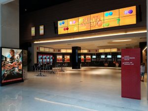 Lobby Cinesystem Morumbi