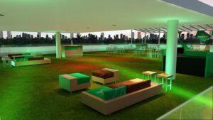 The Art of Heineken - area externa (festas e shows)