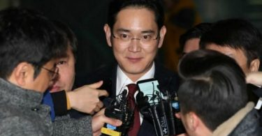 Herdeiro da Samsung é acusado de suborno