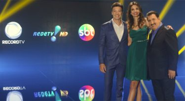 Record, SBT e RedeTV unidas pela TV digital