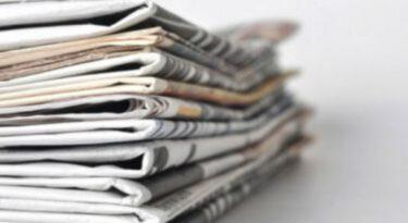 Circulação dos grandes jornais cai em 2016