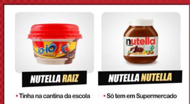 Nutella ignora meme e reforça discrição nas redes