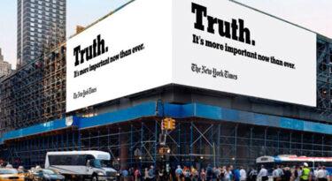 NYT bate recorde de assinantes, mas prevê queda de publicidade
